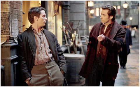 Batman and Wolverine in The Prestige
